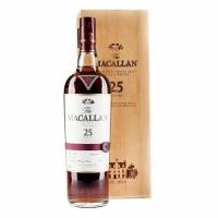 Macallan 25 Year Old Sherry Cask Highland Single Malt Scotch 750ml