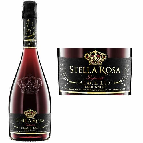 Il Conte d'Alba Stella Rosa Imperiale Black Lux NV