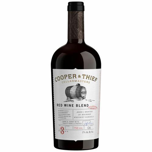 Cooper & Thief Bourbon Barrel Aged California Red Blend 2018
