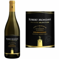 Robert Mondavi Private Selection Monterey Bourbon Barrel-Aged Chardonnay 2015
