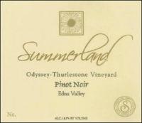 Summerland Odyssey Thurlestone Edna Valley Pinot Noir 2006