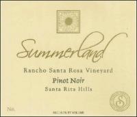 Summerland Rancho Santa Rosa Vineyard Sta. Rita Hills Pinot Noir 2006