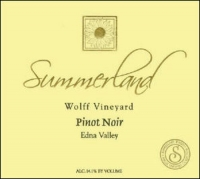 Summerland Wolff Vineyard Edna Valley Pinot Noir 2006
