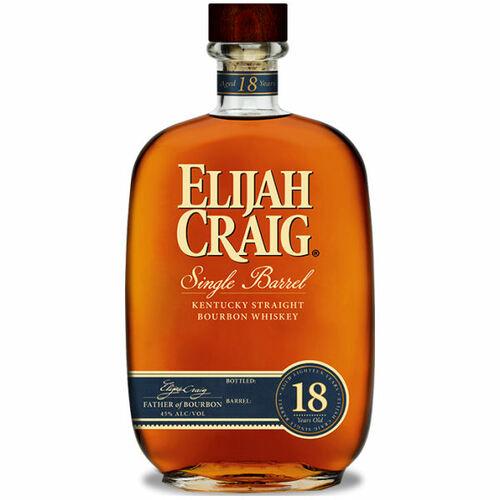 Elijah Craig Single Barrel 18 Year Old Kentucky Straight Bourbon Whiskey 750ml