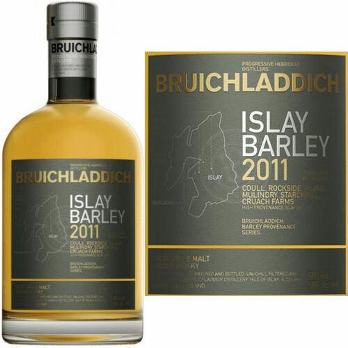 Bruichladdich Islay Barley 2011 Single Malt Scotch 750ml