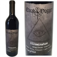 Cloak & Dagger Illuminatus Hidden Valley Vineyard Paso Robles Sangiovese Reserve 2011
