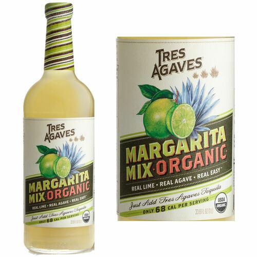 Tres Agave Organic Margarita Mix 1L