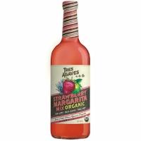 Tres Agave Organic Strawberry Margarita Mix 1L
