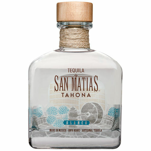 San Matias Tahona Blanco Tequila 750ml