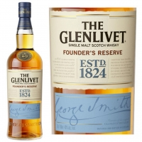 The Glenlivet Founders Reserve Single Malt Scotch 750ml Etch