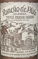 Rancho de Philo Triple Cream Sherry (California)