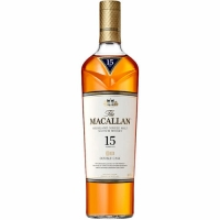 Macallan 15 Year Old Fine Oak Single Malt Scotch 750ml Etch Rated 96-100WE