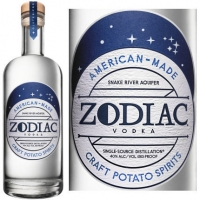 Zodiac Original Potato Vodka 750ml Etch