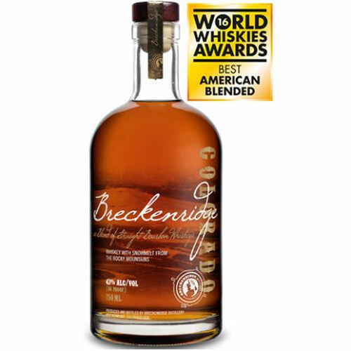 Breckenridge Blend of Straight Bourbon Whiskeys 750ml Etch