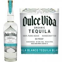 Dulce Vida Organic Blanco Tequila 750ml Etch