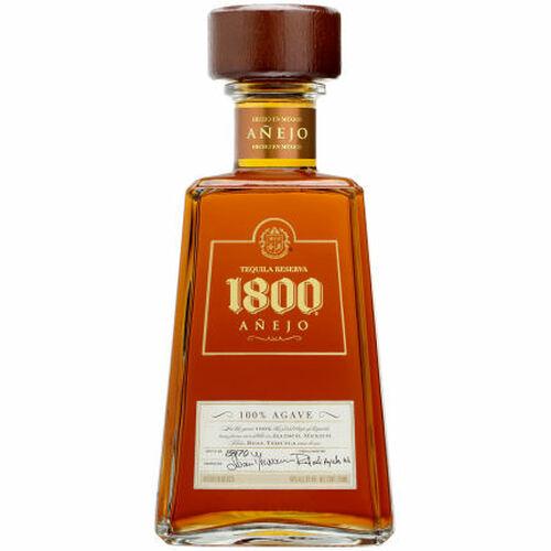 1800 Anejo Tequila 750ml Etch