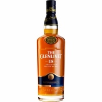 The Glenlivet 18 Year Old Speyside Single Malt Scotch 750ml Etch Rated 93WE