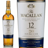 Macallan 12 Year Old Double Cask Highland Single Malt Scotch 750ml Etch