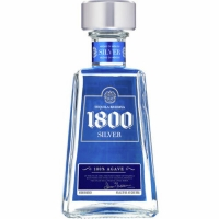 1800 Silver Tequila 750ml Etch