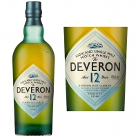 The Deveron 12 Year Old Highland Single Malt Scotch 750ml Etch