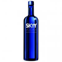 Skyy Blue American Grain Vodka 750ml Etch