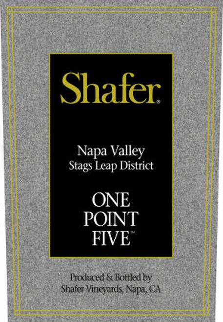 Shafer One Point Five Stags Leap District Cabernet 2018 Rated 94WS 375ml Half Bottle