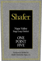 Shafer One Point Five Stags Leap District Cabernet 2014 375ML Half Bottle Rated 91WA