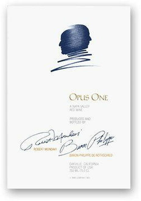 Opus One Napa Valley Red Wine 2015 1.5L Rated 98JS