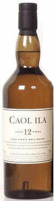 Caol Ila 12 Year Old Islay Single Malt Scotch 750ml Etch
