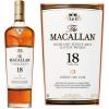 The Macallan 18 Year Old Sherry Cask Highland Single Malt Scotch 750ml Etch