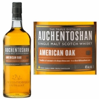 Auchentoshan American Oak Lowland Single Malt Scotch 750ml Etch