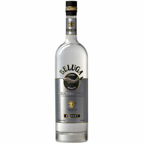 Beluga Noble Russian Vodka 750ml Etch