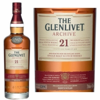 The Glenlivet 21 Year Old Archive Speyside Single Malt Scotch 750ml Etch Rated 96-100WE