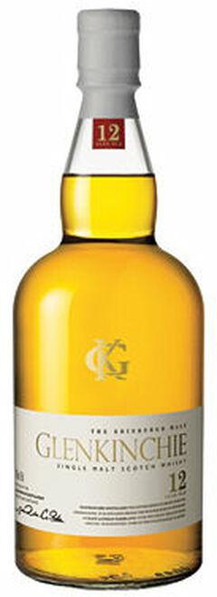 Glenkinchie 12 Year Old Lowland Single Malt Scotch 750ml Etch