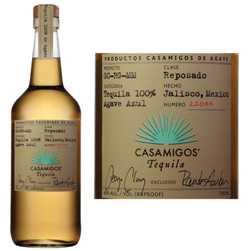 Casamigos Reposado Tequila 750ml Etch