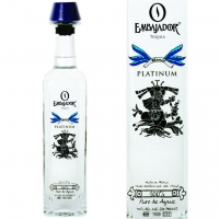 Embajador Platinum Blanco Tequila 750ml