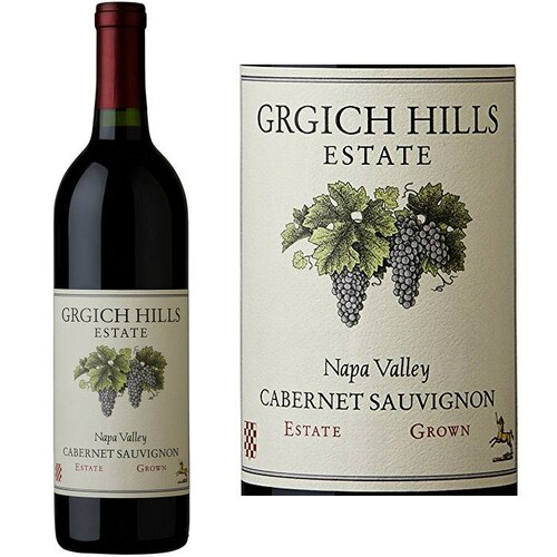 Grgich Hills Estate Napa Cabernet 2016 Rated 92WA