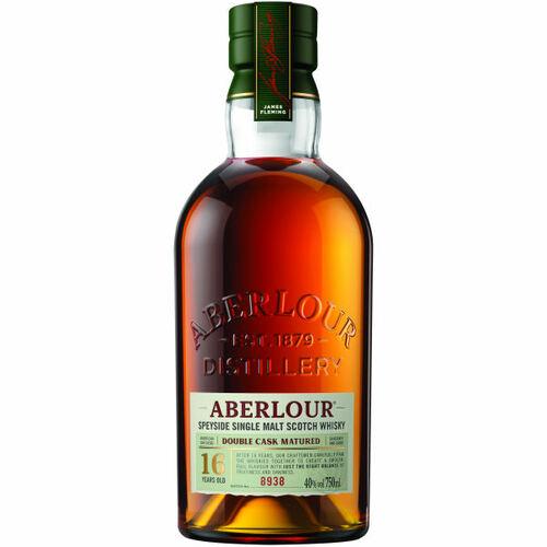 Aberlour 16 Year Old Double Cask Matured Highland Single Malt Scotch 750ml Etch