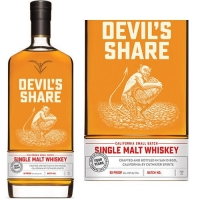 Cutwater Devil's Share Single Malt Whiskey 750ml