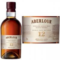 Aberlour 12 Year Old Double Cask Matured Highland Single Malt Scotch 750ml Etch
