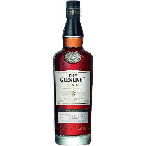 Glenlivet XXV Speyside Single Malt Scotch 750ml