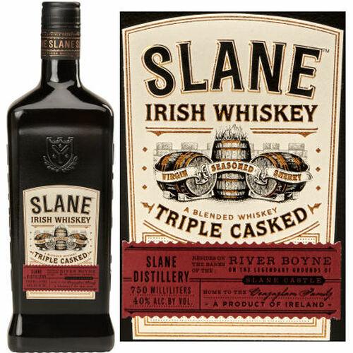 Slane Triple Casked Irish Whiskey 750ml
