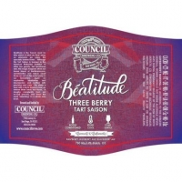 Council Brewing Beatitude Three Berry Tart Saison 750ml