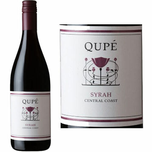 12 Bottle Case Qupe Central Coast Syrah 2018