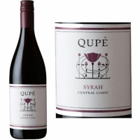 12 Bottle Case Qupe Central Coast Syrah 2013 Rated 90VM