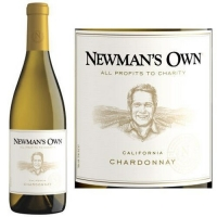 12 Bottle Case Newman's Own California Chardonnay 2015