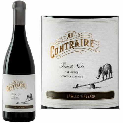 Au Contraire Lawler Vineyard Carneros Pinot Noir 2015