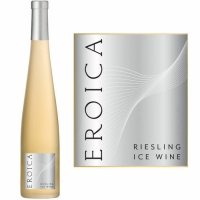 12 Bottle Case Chateau Ste. Michelle - Dr. Loosen Eroica Riesling Icewine Washington 2014 375ml Half Bottle Rated 94WE