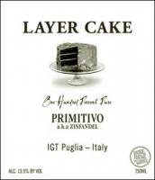 Layer Cake Primitivo aka Zinfandel Puglia IGT 2014 (Italy)