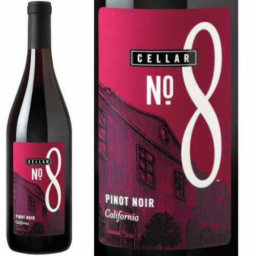 Cellar #8 California Pinot Noir 2016